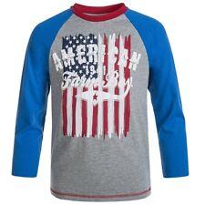 Farm Boy Brand American Flag Long Sleeve T-Shirt Toddler 24M NWT