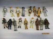 STAR WARS VINTAGE Figur 52 - 16 Figuren Set