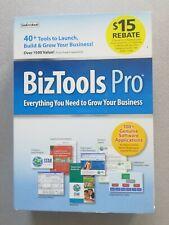 BizTools Pro Software for Windows XP Vista Windows 7 Genuine Application SEALED