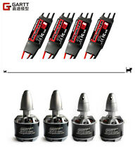 4 X Gartt ML 2212S 920kv 230W Brushless Motor + 2-3S 40A Skywalker Brushless ESC