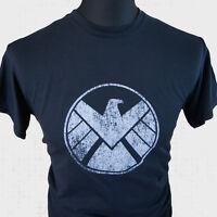 Agentes of SHIELD Superhéroe Camiseta Marvel Vengadores Captain America Iron Man
