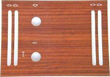 Holzverkleidung Klimaanlage ZAC 2 passend für Mercedes W107 Zebrano Holz