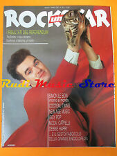rivista ROCKSTAR 78/1987 Simon Le Bon Cocteau Twins Iggy Pop Debbie Harry No cd