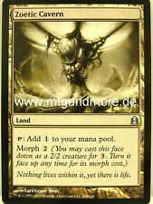 Magic commandant EDH - 4x zoetic caverne