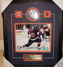 John Tavares Nhl Hockey el primer gol Auto Puck Photo Frame