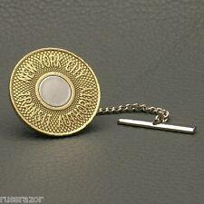 Tie Tack Pin Chain, NYC Subway Token New York City Vintage Bullseye