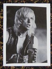 F / Hecho A Mano tarjeta de saludos Con Tema Musical Judas Priest