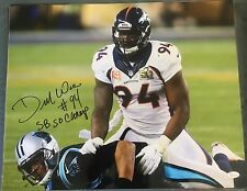 DeMarcus Ware Signed Autographed 16x20 Photo Denver Broncos SB 50 JSA