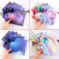 50stk Sternenhimmel Origami Scrapbooking Papier DIY Handgemacht Bastel 150x150mm