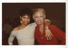 Debbie Allen & Jane Powell - Original Vintage Candid Photo - Peter Warrack