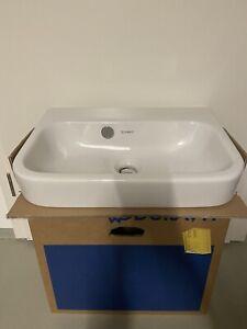 Duravit Vero Waschtisch Waschbecken 50x 36 in weiß ohne Hahnloch