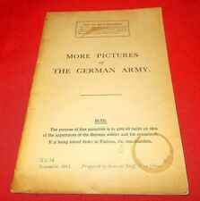 """""""More Pictures Of German Army""""  1941  War Office (Not To Be Published)"""