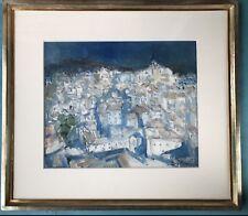 Neo-Expressionismus Gemälde BERGDORF Irene Battaille Schilde Belgien ~1950