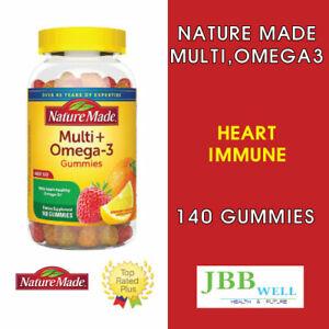 Nature Made Multivitamin + Omega 3 Gummies 140.0ea Exp. 08/22