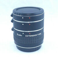 Kenko Extension Tube Set For C/AFs DG Made in Japan 12mm 20mm 36mm