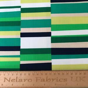 100% Cotton Geo Pop Canvas Emerald green fabric by Robert Kaufman