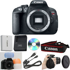 Canon EOS Rebel T5i Digital SLR Camera (Body Only) + 6pc Beginner Bundle Kit