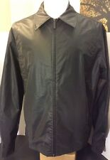 Kenneth Cole New York 100% Polyurethane Black Jacket Men's Size Large