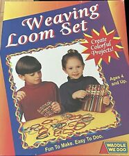 New ListingWeaving Loom Set Waddle We Doo Ages 4+ Crafts Potholders 2002 Usa Euc