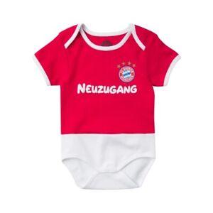 Kapuzentuch zum Babybody Strampler FC Bayern München Trikot Design NEU OVP!