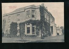 Dorset BEAMINSTER Manor House + Lady of Manor? c1900/10s? PPC
