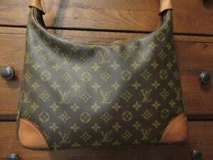 Louis Vuitton Boulogne 30 Shoulder Bag Monogram Canvas M51265