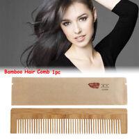 à la main poche anti - statique peigne outil de coiffure le bambou coiffure