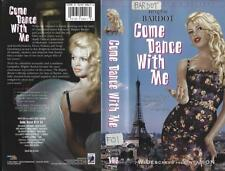 VHS: COME DANCE WITH ME.....BRIGITTE BARDOT......SUBTITLED#
