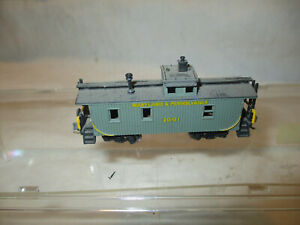 """Vintage Arnold??? caboose """"Maryland & Pennsylvania""""  N scale"""