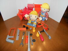 Bob The Builder Play Set Huge Lot with Talking Truck,Bob Tools and More