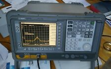 Spectrum Analyzer, Agilent e4411b 1.5 Ghz, 75 ohms
