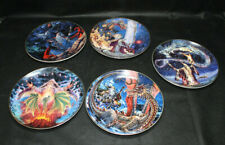 Franklin Mint Royal Doulton Fantasy Plates Lot of 5 - Fine Bone China! Preowned!