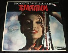ROGER WILLIAMS Temptation LP ORIGINAL 1960 KAPP MONO CHEESECAKE STILL SEALED !!