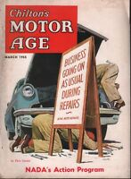 Chilton's Motor Age March 1955 NADA's Action Program 100218ame