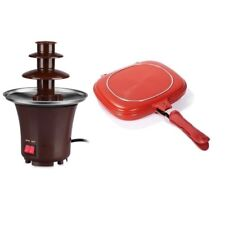 Mini Chocolate Fountain with Double Grill Pan 32cm
