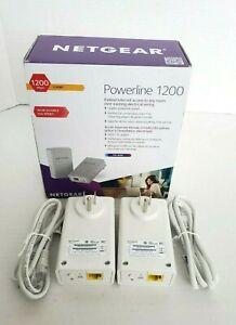 NETGEAR Powerline 1200 Model PL1200 Gigabit For Smart TV 4K HD & Game Consoles