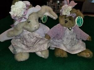 Bearington collection (2) - Jordan (rabbit) and Marissa (bear)