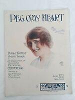 Cinderella Pantomime Peg O My Heart J.C. Williamson Dolly Castle 1913 OZ Variant