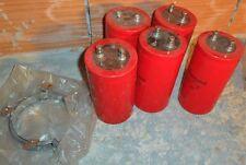 condensatore elettrolitico 4700uF 4700 microfarad 250V  fascette fissaggio