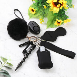 Tool Defense Personal Alarm Protection Safety Keychain Pendant Key Chain Set