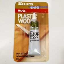 Selleys Plastic Wood 50G Blister Bar Fast Setting Filling Wood Cement