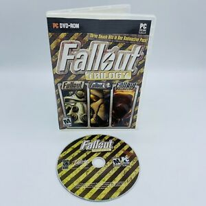Fallout Trilogy (PC, 2009) Fallout 1, 2, Tactics, PC DVD-ROM Game, Fast Ship