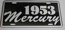 METAL LICENSE PLATE 1953 53 MERCURY MERC MONTEREY MONTCLAIR CONVERTIBLE WAGON