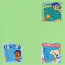 15 Bubble Guppies I've Grown - Height and Weight - Large Stickers - 3 designs