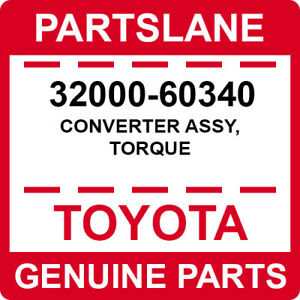 32000-60340 Toyota OEM Genuine CONVERTER ASSY, TORQUE
