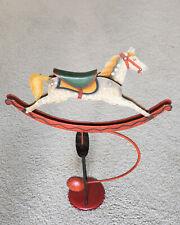 Balance Pendulum Rocking Figure Hand Crafted Metal Horse