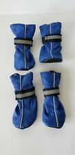 Top Paw Blue Protective Dog SNOW RAIN Boots Shoes Size Small