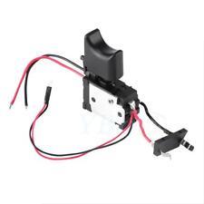 Pulsante grilletto trapano elettrico a batteria 16A 7.2V-24V Pulsante con luce