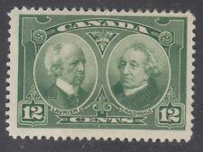 "Canada MINT OG Scott #147 12 cent Laurier & Macdonald ""Historical"""