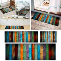 Non-slip Dining Room Carpet Shaggy Soft Area Rug Bedroom Rectangle Floor Mat